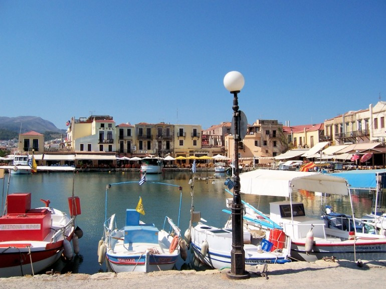 Rethymnon old venetian harbor