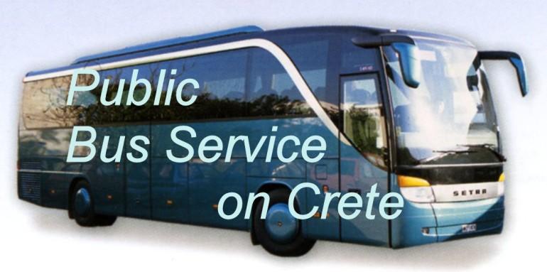 Public Bus Service Crete